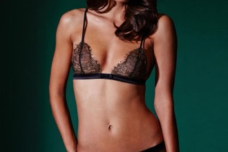 Jardin Imperial Triangle Bra by Maison Close