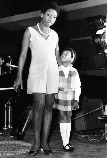 Nina and Lisa Simone, 1968