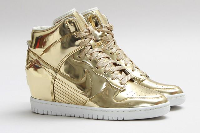 """Nike Dunk Sky Hi SP """"Liquid Gold"""""""