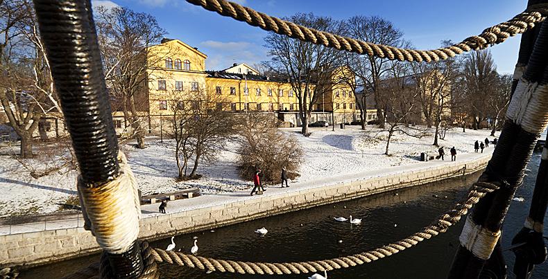 Stockholm 20120131STF:s vandrarhem Skeppsholmen och af Chapman i StockholmFoto Hasse Fridén