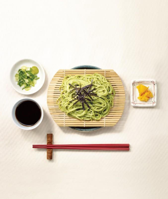 綠茶蕎麥冷麵