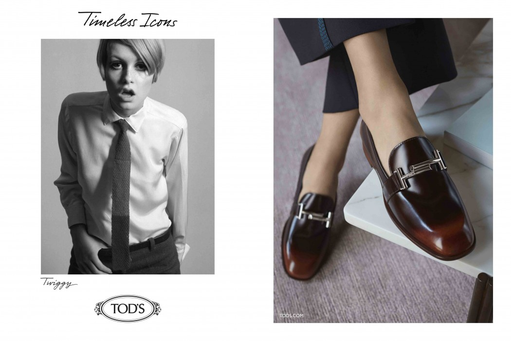 TODS_FW16 AD_Timeless Icons_Twiggy