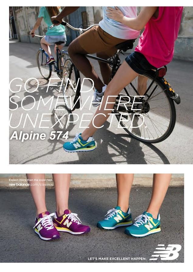 圖1.New Balance 80年代獨領風騷名品復刻版574鞋款