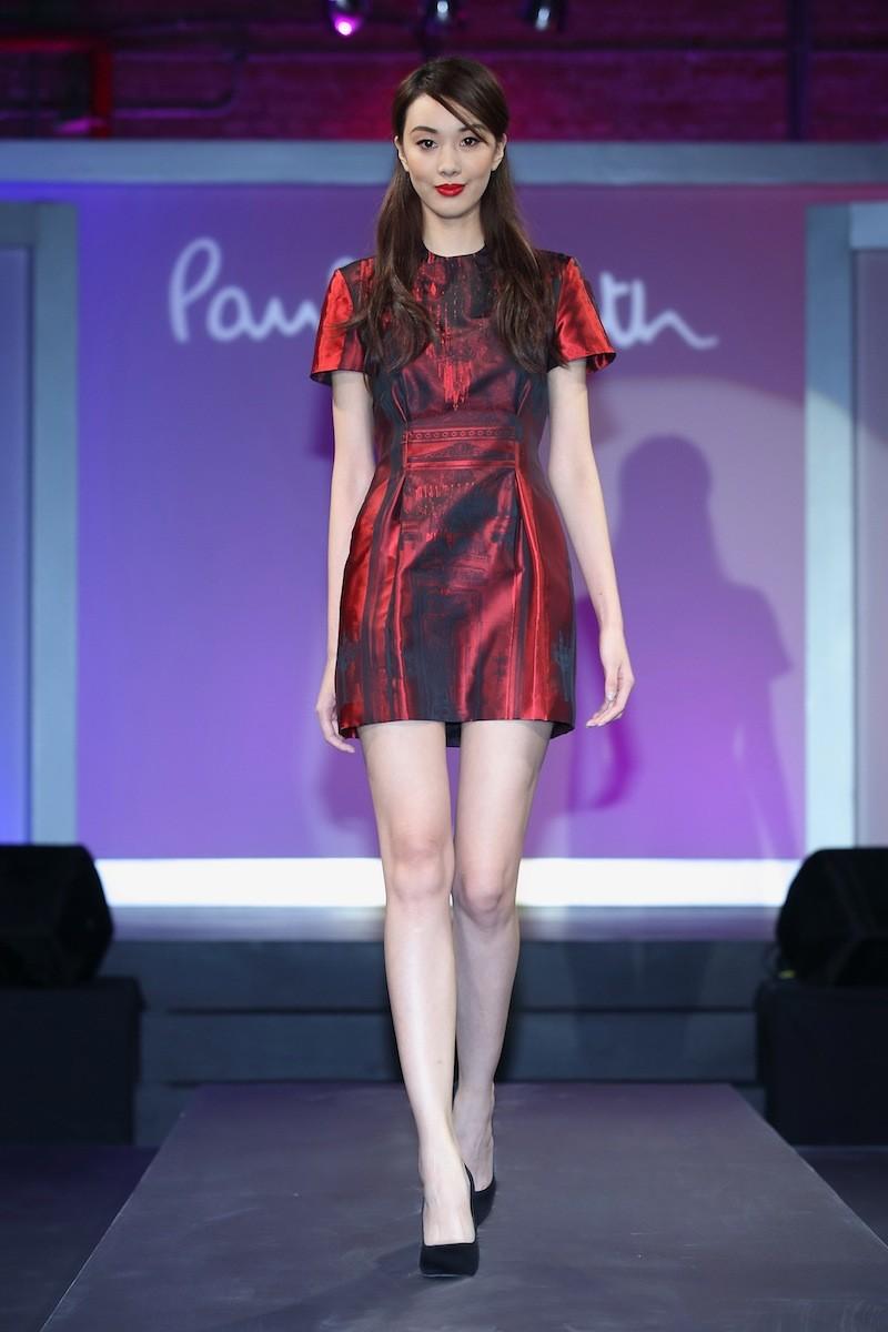 模特兒演繹「Paul Smith 2013秋冬女裝系列」01