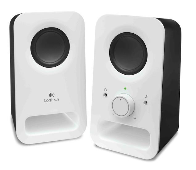 羅技多媒體揚聲器Z150_產品圖(白)