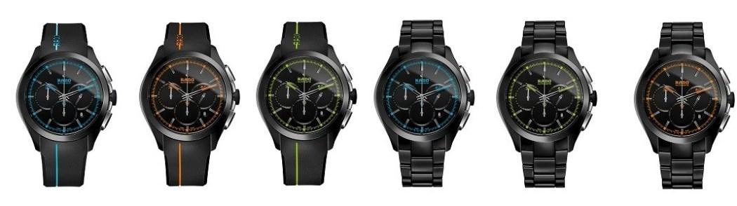 雷達表皓星系列(HyperChrome) Court高科技陶瓷自動計時腕錶 R32525159 建議售價NTD 149,800_正面照