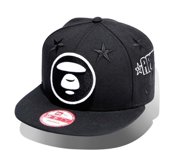 Aape x New Era Embroidered Patch Baseball Cap_HK$599_1 (1)