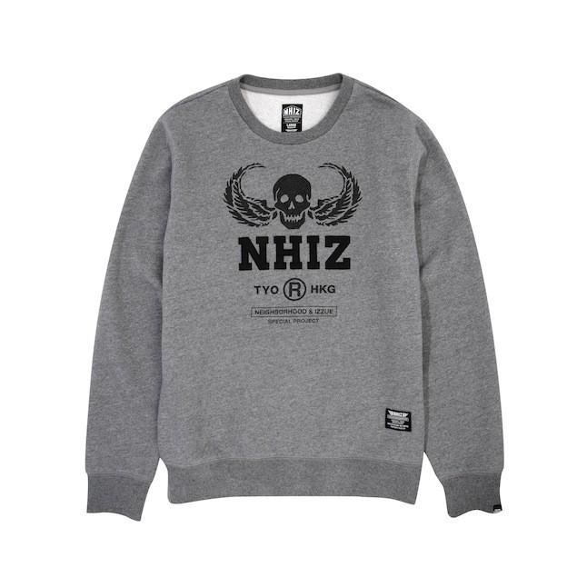 NHIZ SKULL+NHIZ SWEATER $899 (front)