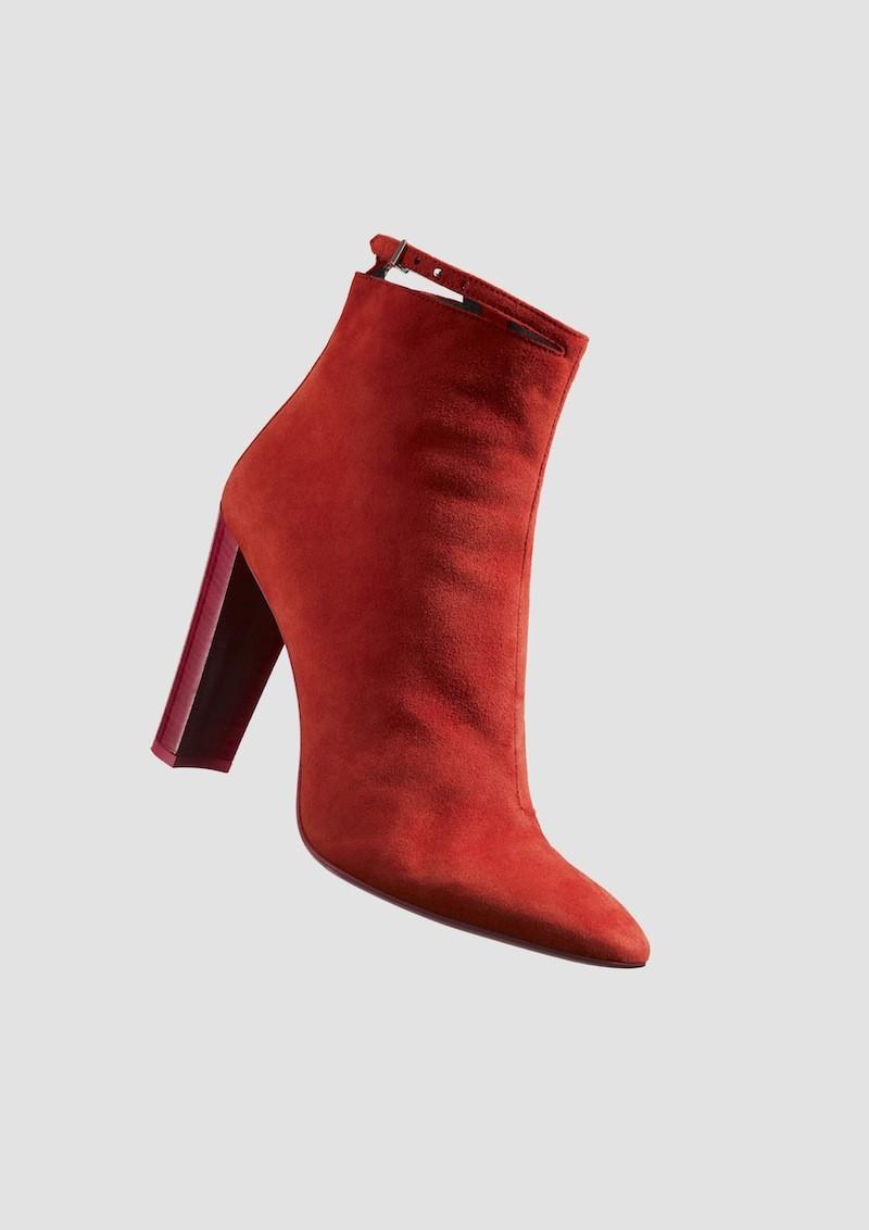 Paul Smith AW13 紅色繫帶絨面女款短靴-價格店洽