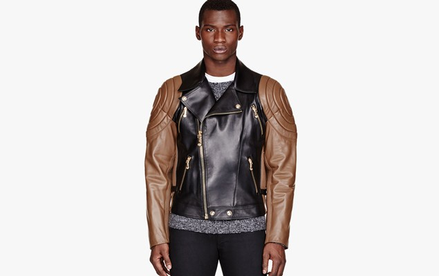 versace-black-brown-quilted-leather-jacket-1