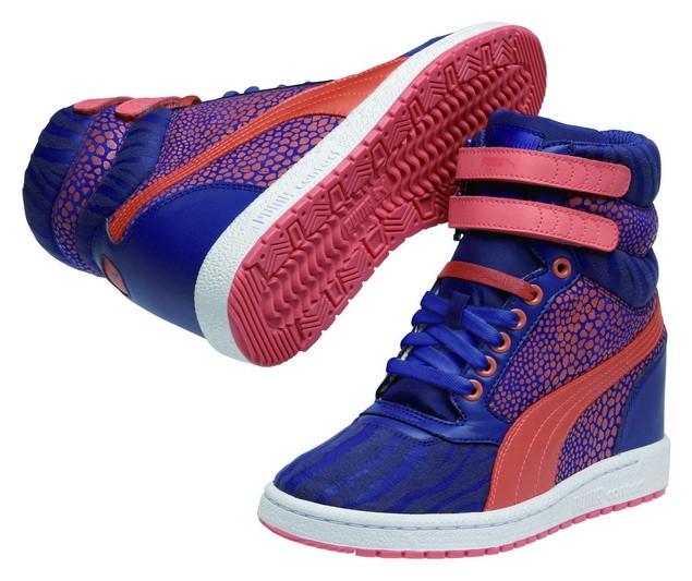 35542706-PUMA Sky Wedge Reptile運動風高筒楔型鞋  建議售價:NT$ 3,282_