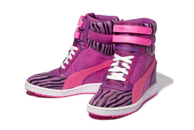 35542706-PUMA Sky Wedge Reptile運動風高筒楔型鞋  建議售價:NT$ 3,283_