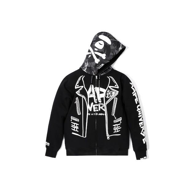AAPE - Zip Up Hoodie