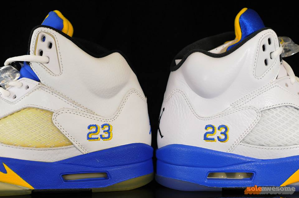 air jordan v laney comparison-3