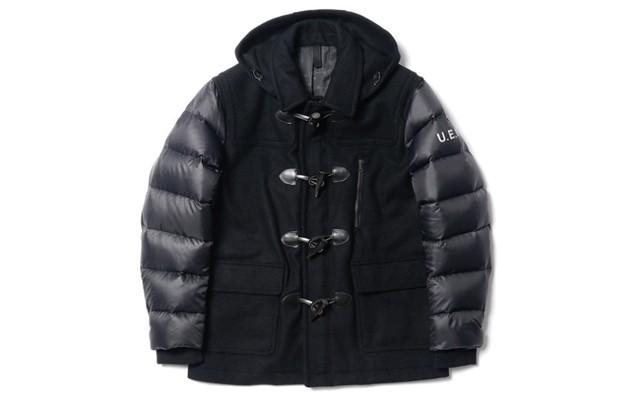 uniform-experiment-down-sleeve-short-duffle-coat-1