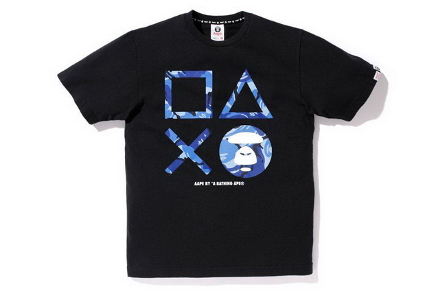 Aape x PlayStation4 Crossover Tee _ HK$499 (2)_