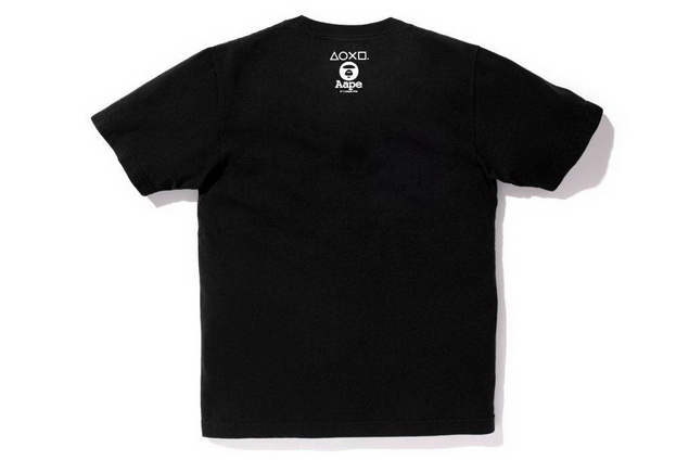 Aape x PlayStation4 Crossover Tee _ HK$499 (4)_