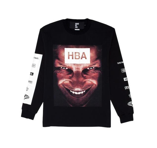 Yohood x HBA Face L_S Tee (Front)