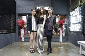 左起 Vicky陳薇捷、Jezy林育菁及Stephanie張立妲攜手創立PASSHION 1