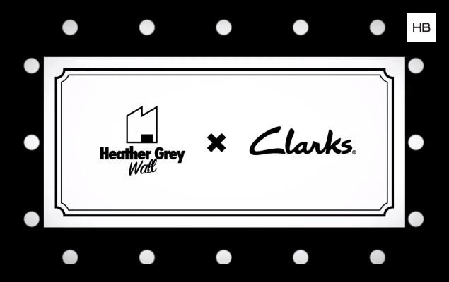 Heather Grey Wall x Clarks