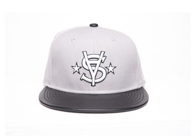 MR.SAY NAVY Leather Snapback-01_