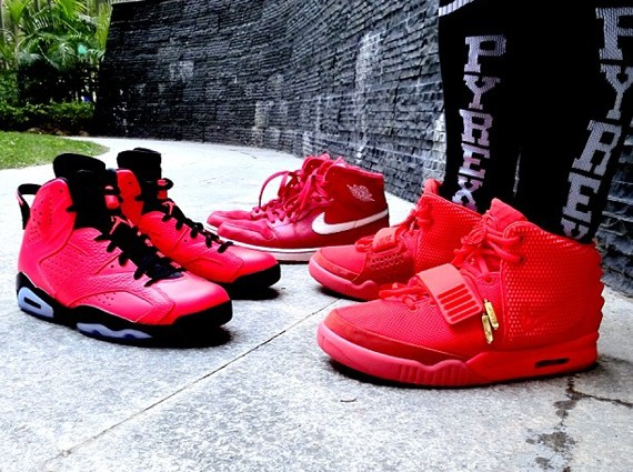 red-nike-sneakers-yeezy-2