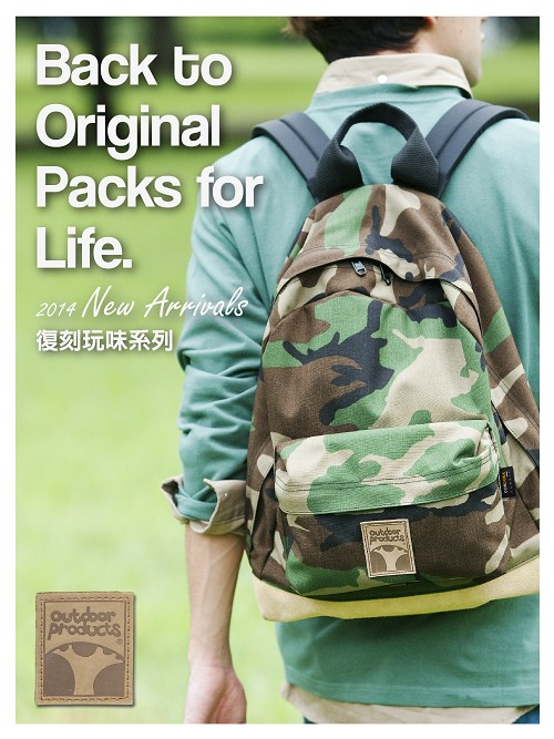 【OUTDOOR】Back to Original