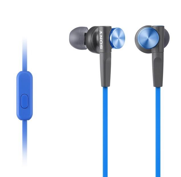 XB50AP外型帶有金屬質感的高彩度亮藍與金黃設計,展現街頭潮流風格。_