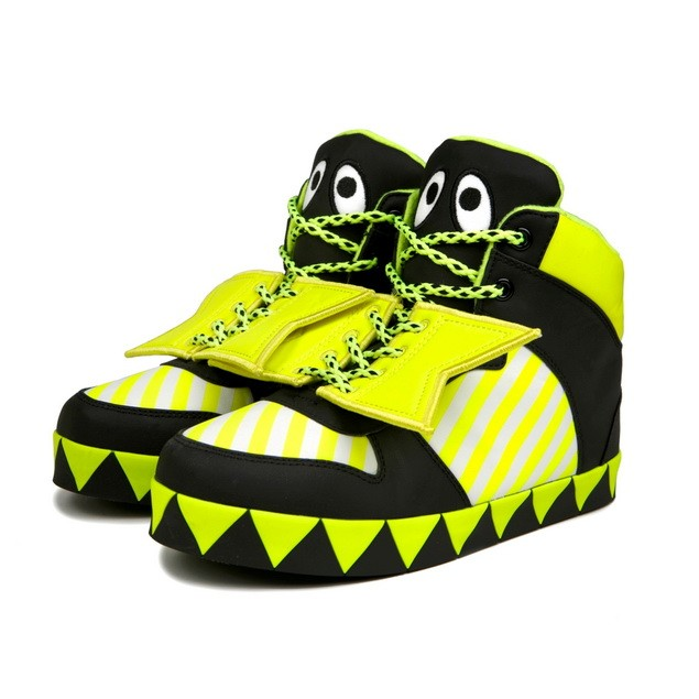HYOMA SP14 Color Yellow Blocking sneaker Shoes $999