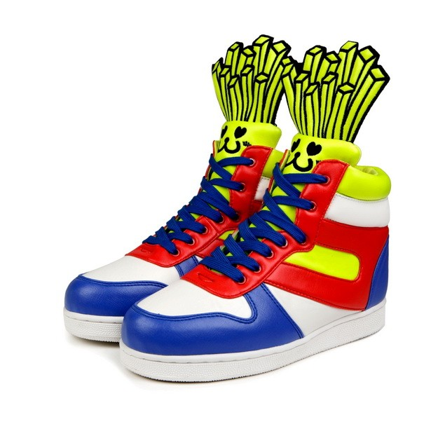 HYOMA SP14 Fries Blue x Red x Yellow Trainer Shoes $1099