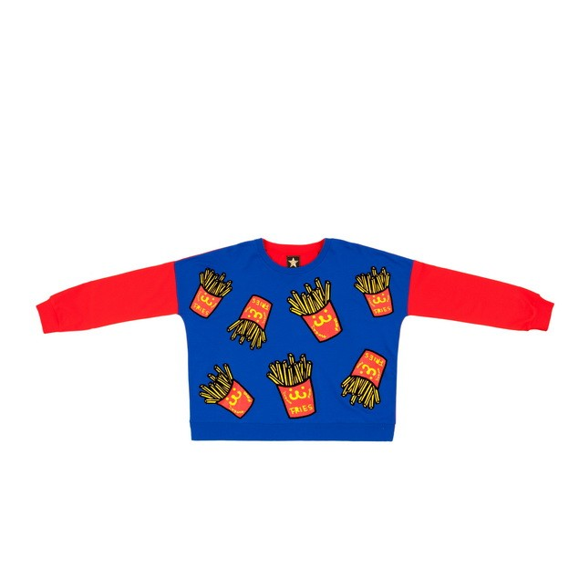 HYOMA SP14 Fries all-over Sweatshirt $629