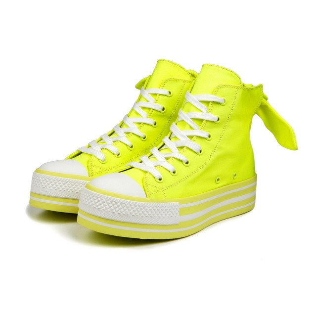HYOMA SP14  Hyoma All-over Yellow Trainers $799