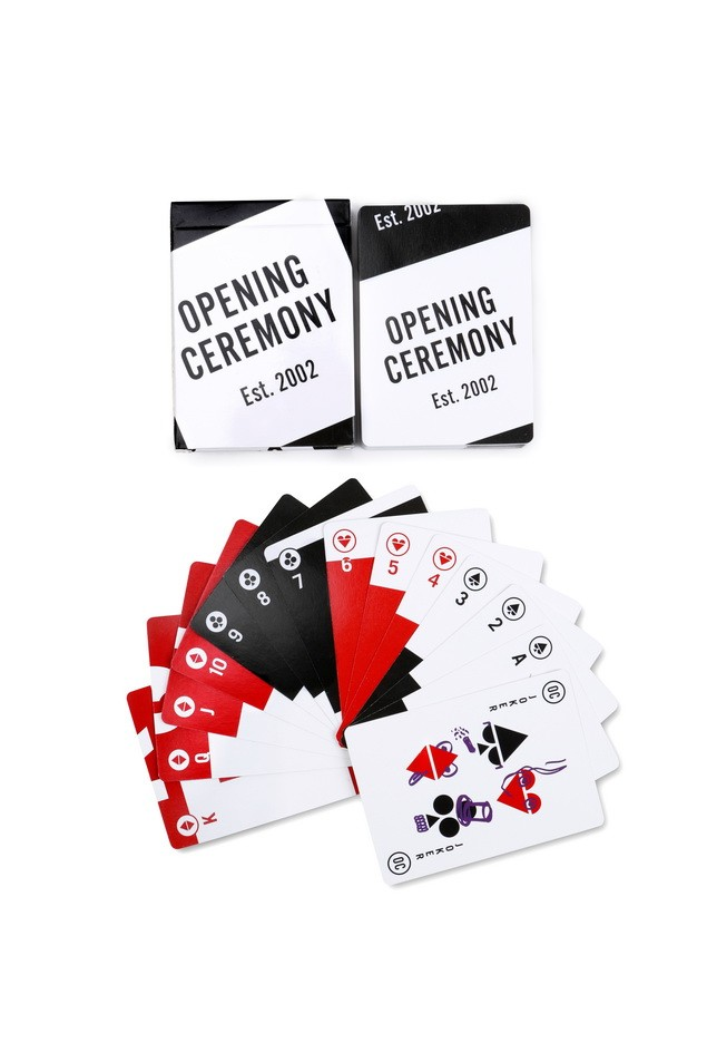 OPENING CEREMONY_playing cards($99)