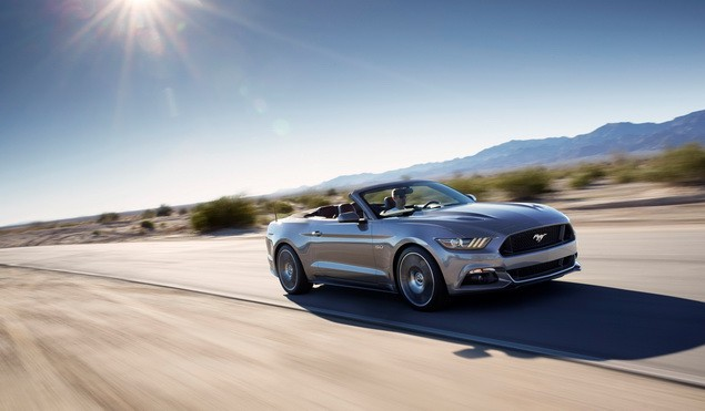 The all-new 2015 Ford Mustang Convertible