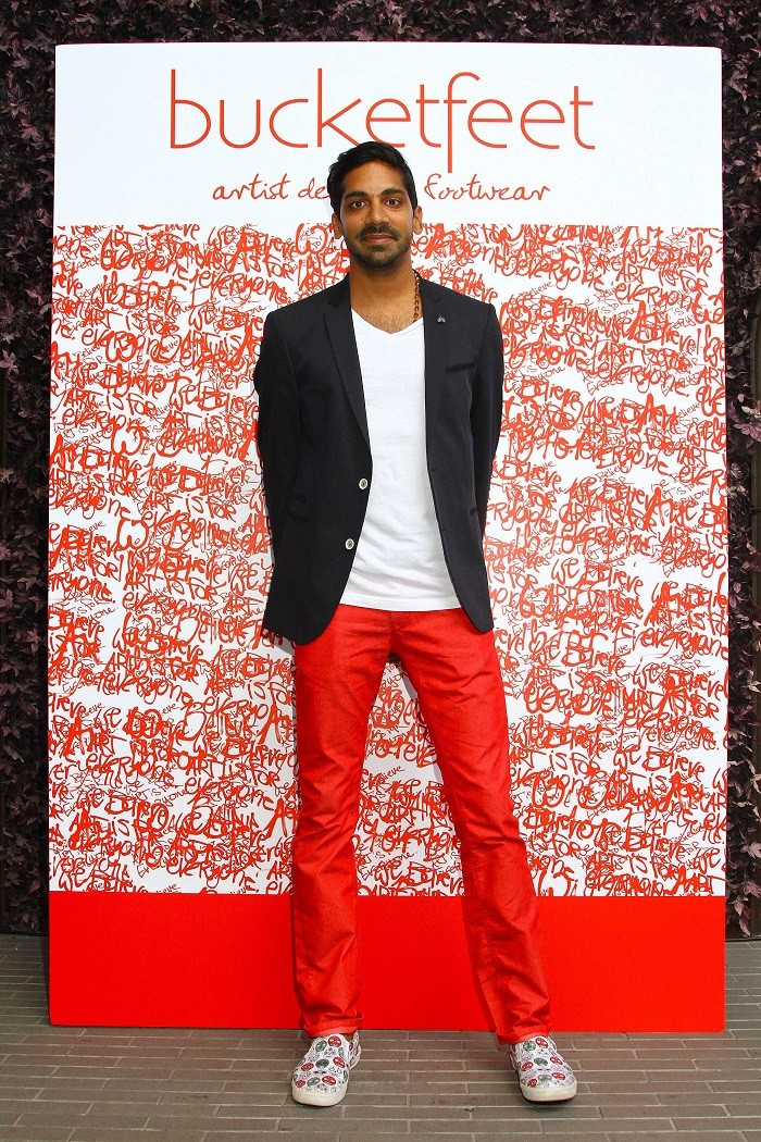 bucketfeet CEO Mr. Raaja Nemani