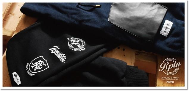 2014 REPUTATION AMW SS 口袋拼接棉褲 形象-04-01