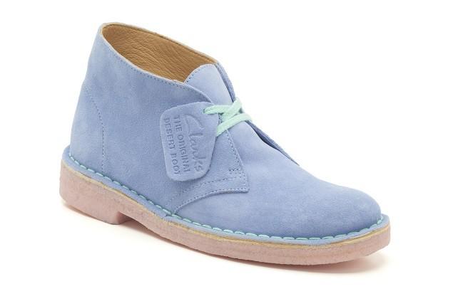 Desert Boot Pale Blue