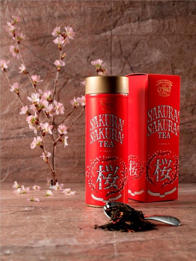 TWG Tea Haute Couture 頂級訂製系列櫻之頌! 建議售價新台幣1180元