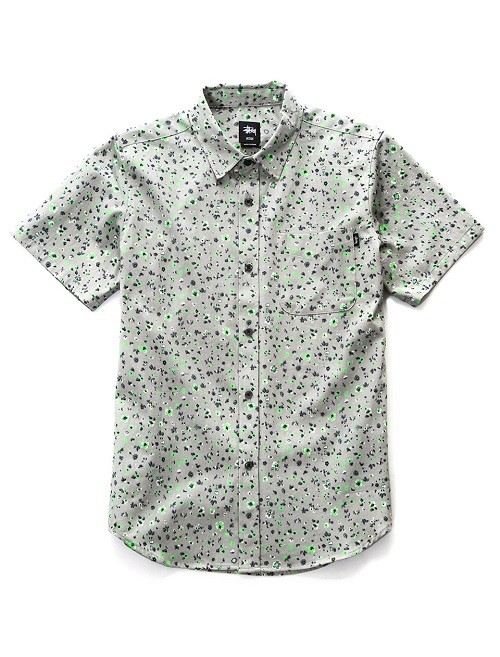 NeonFlowerShirt_Grey_NT$2480