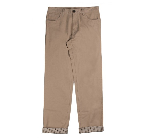 Polka Dots Roll Up Pants_(Beige1)