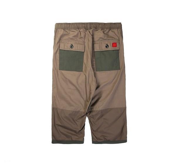 Tonal Panel 3_4 Shorts_(Army Green2)