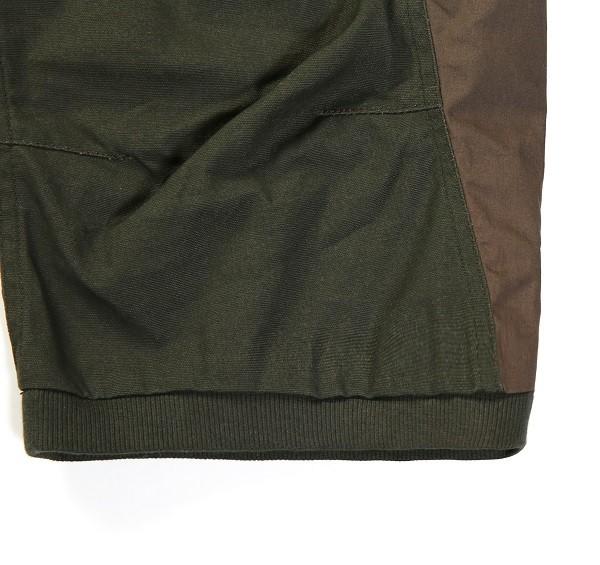 Tonal Panel 3_4 Shorts_(Army Green3)