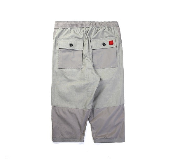 Tonal Panel 3_4 Shorts_(Grey2)