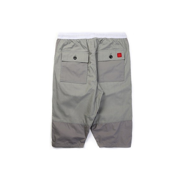 Tonal Panel Shorts_(Grey2)