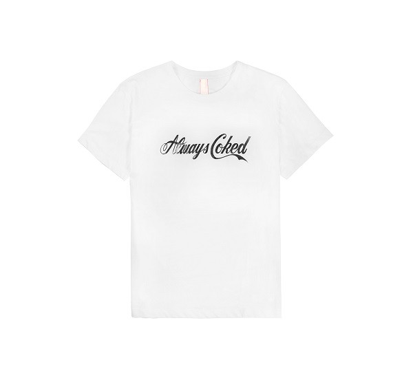 Always Coked Tee_(White_Black1)