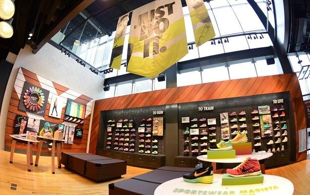 Nike臺北Neo19跑步體驗店二樓為女性專屬空間,提供完整的跑步、訓練以及運動生活系列產品 (1)
