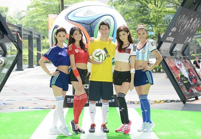中華隊主力球星夏維耶黃金右腳開踢揭幕,象徵adidas巴西世足嘉年華正式揭幕,即日起至6月29日在台北信義香堤廣場,邀請全台球迷一同體驗