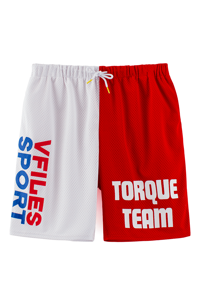 VFile Sport Plus_Motocross shorts_red front