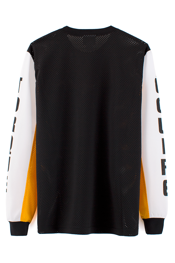VFile Sport Plus_Motocross jersey_black back