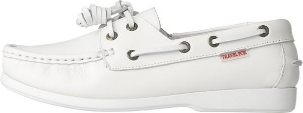 TRAVEL FOX 世足推薦鞋款-英格蘭隊_STYLE風格-帆船鞋款(白)_原價$3,000元(男&女)